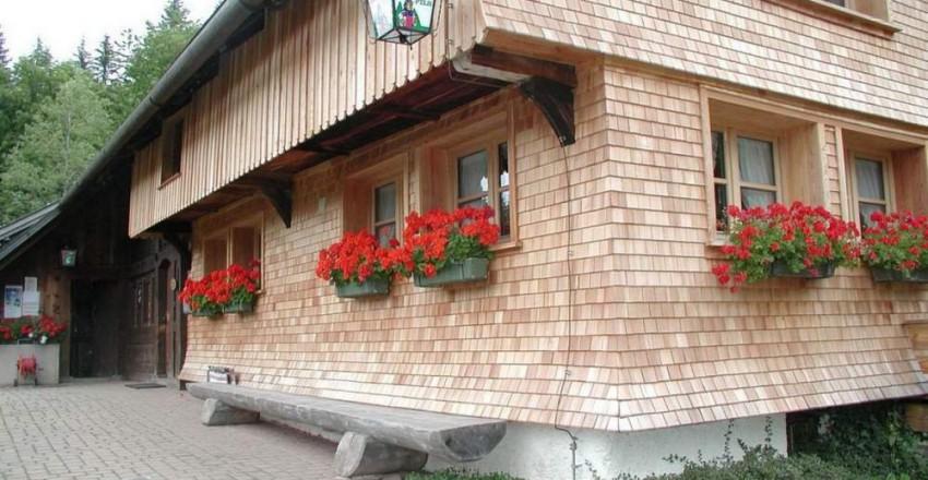 Гонт фасада